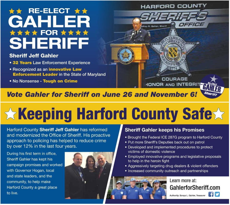 jeff gahler for sheriff 2018  u2013 re